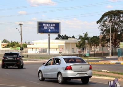 Painel LED – Condomínio Solar de Brasília